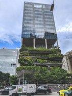 Vertikale Gärten in Singapur