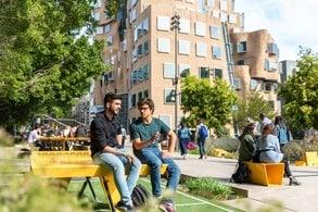 Grün und nachhaltig: der UTS Campus