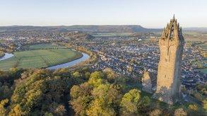 Blick auf das mittelalterliche Stirling