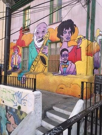 Street-Art, Valparaíso