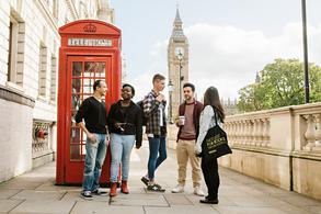 Die zentrale Lage der Universität macht es Ihnen leicht London zu entdecken