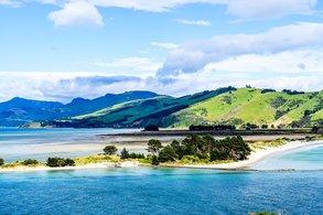 Die Umgebung der Unistadt Dunedin verzaubert mit zahlreichen Postkartenmotiven