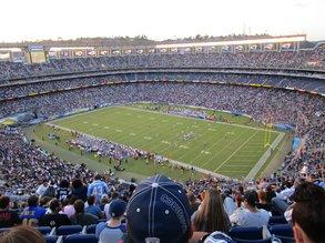 Football: San Diego Chargers vs Dallas Cowboys