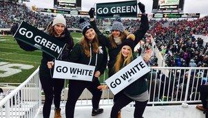 Go Green - Go White