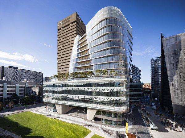 Moderner City Campus mitten in Sydney: UTS