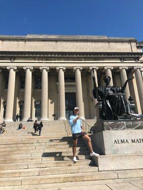 Marc möchte sein Semester an der Columbia auf keinen Fall missen