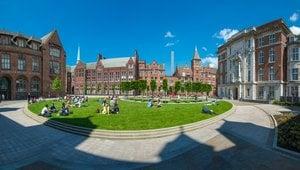 Campus der University of Liverpool - Auslandssemester über IEC
