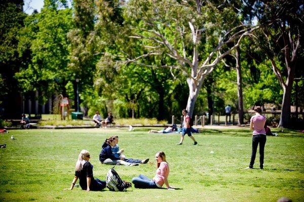 Summer School an der La Trobe University in Australien.