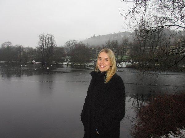 Tina Berking macht ihren Master in Großbritannien an der University of Stirling