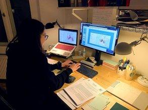 """Matilda hat im virtuellen Auslandssemester ihre Organisationsskills verbessert: """"Vorausschauen, Planen, nicht immer alles auf den letzten Abend machen. Das wird auf jeden Fall gefördert."""""""