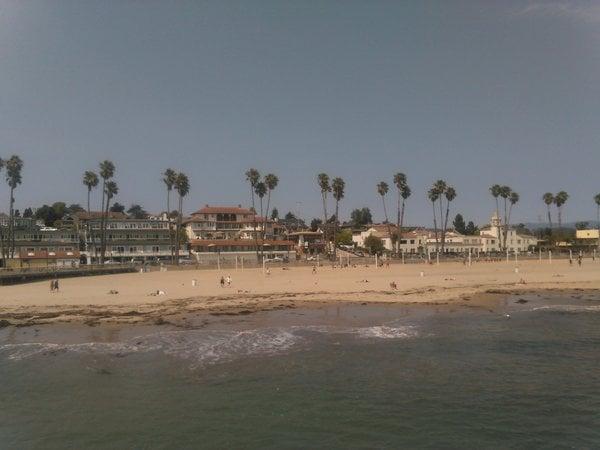 Strand von Santa Cruz