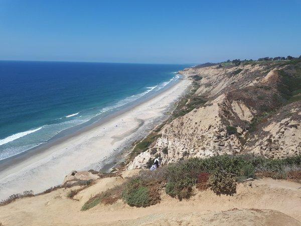 Torrey Pines-Strand in San Diego