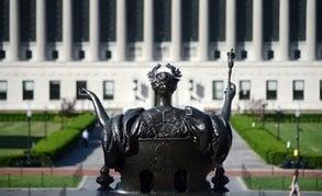 Hohe Studiengebühren: An Elite-Universitäten wie der Columbia University ist das Studium teuer