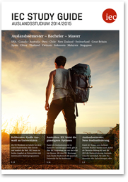 IEC Study Guide 2014/15 zum Auslandsstudium