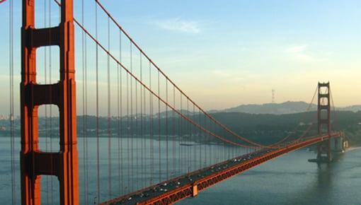 Auslandssemester in Kalifornien - Golden Gate Bridge