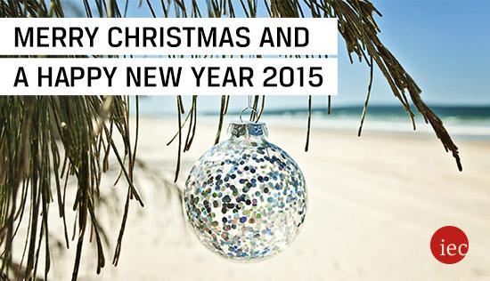 IEC - International Education Centre wünscht Ihnen frohe Weihnachten und einen guten Rutsch ins neue Jahr!