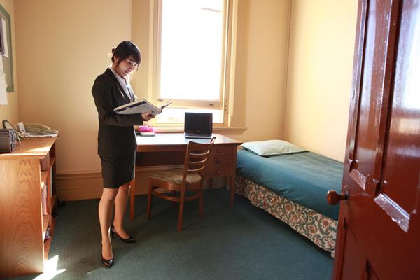 Wenn Studierende über ein Kinderzimmer bei den Eltern verfügen, verfällt der Anspruch auf Kindergeld nicht (Foto: International College of Management, Sydney)