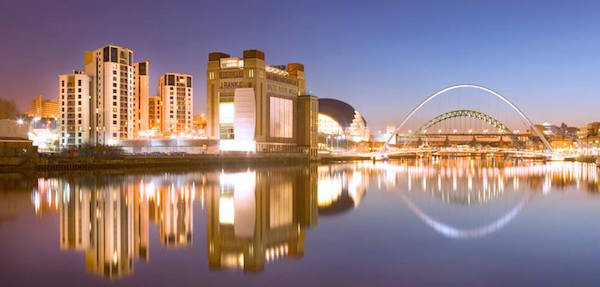 Brücken in Newcastle