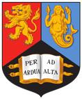 Wappen der University of Birmingham