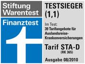 IEC und die HanseMerkur bieten die beste Auslandskrankenversicherung für Auslansstudium und Auslandssemester